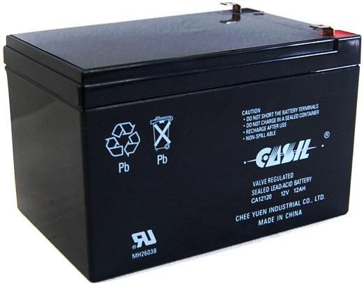 Аккумулятор для мотоциклов Casil  12V-12 Ah