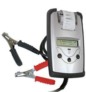 Аксессуары для аккумуляторов Эл. тестер для АКБ с принтером DHC BT 501