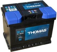 Аккумулятор автомобильный 56 Ah THOMAS