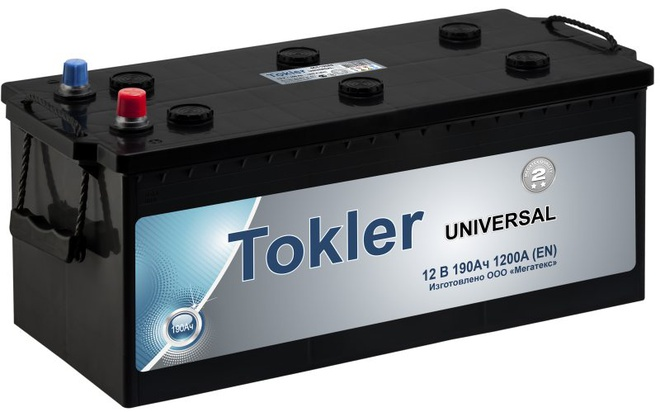 Грузовой аккумулятор Tokler Universal 190