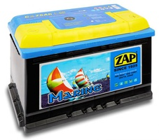 Лодочный аккумулятор 75 Ah 857 50 Zap Marine