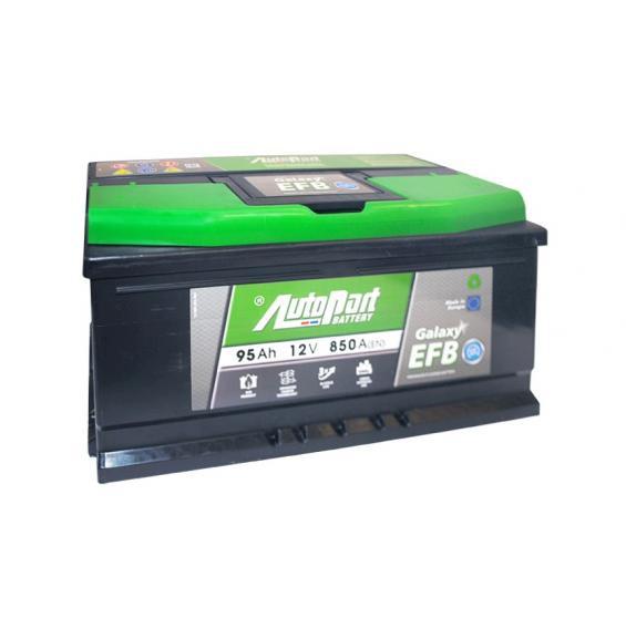 Аккумулятор автомобильный 95Ah-ARL595-GALAXY EFB