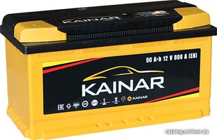 Аккумулятор автомобильный Kainar 90 R+