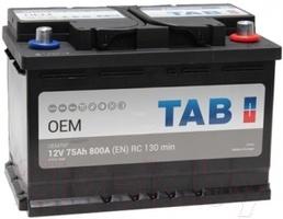 Аккумулятор автомобильный Tab OEM 75 R