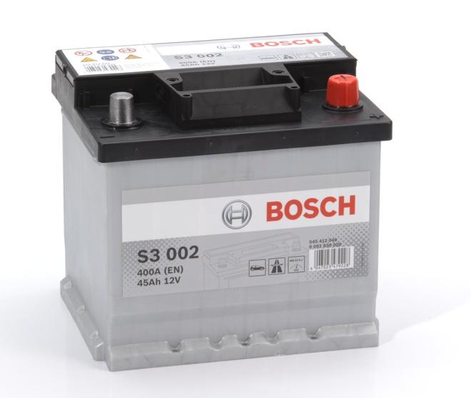 Аккумулятор автомобильный Bosch S3 45 R