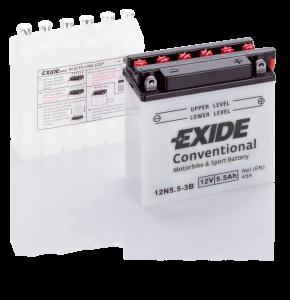 Аккумулятор для мотоциклов Exide 5.5 Ah