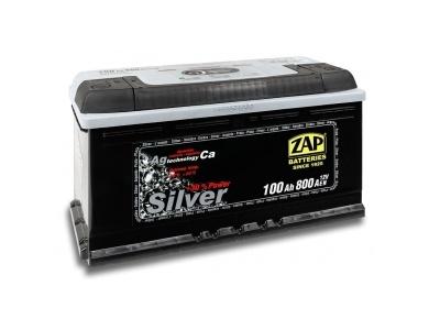 Аккумулятор автомобильный 100 Ah-600 70 ZAP SILVER JAPAN L