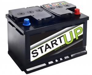 Аккумулятор автомобильный START UP 80R