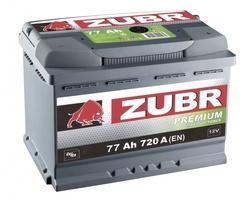 Аккумулятор автомобильный 77 ŻUBR PREMIUM