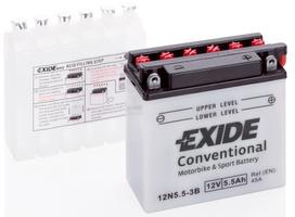 Аккумулятор для мотоциклов Exide 5 Ah
