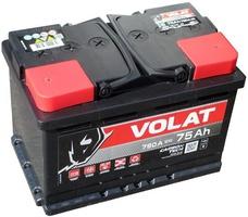 Аккумулятор автомобильный 75  Аh   VOLAT
