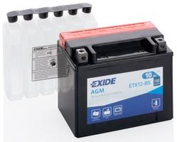 Аккумулятор для мотоциклов Exide LF 10 Ah