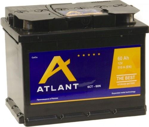 Аккумулятор автомобильный 60 Аh ATLANT