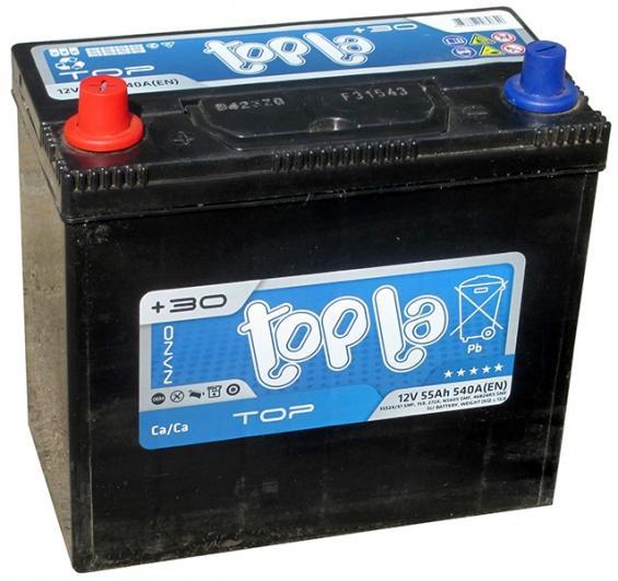 Аккумулятор автомобильный 55 TOPLA TOP Asia L+
