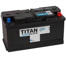 Аккумулятор автомобильный TITAN Euro Silver 110 R