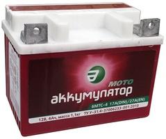 Аккумулятор для мотоциклов 6МТC-4 4Ah