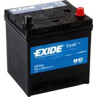 Аккумулятор автомобильный Exide Excell 50 JR
