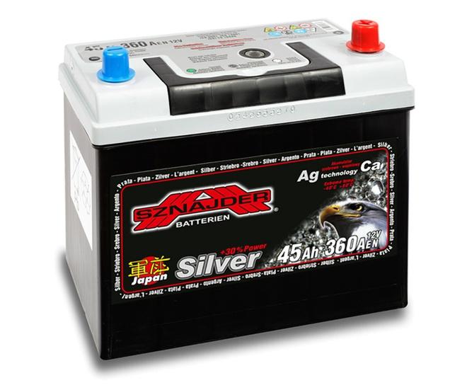 Аккумулятор автомобильный Sznajder Silver Japan [magic eye] 35 JL