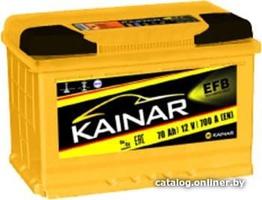 Аккумулятор автомобильный Kainar EFB 70 R+