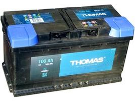 Аккумулятор автомобильный 100 Ah THOMAS