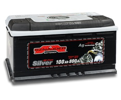 Аккумулятор автомобильный Sznajder Silver Premium [magic eye] 100 R