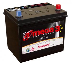 Аккумулятор автомобильный A-mega Standard Asia 100 JR eye