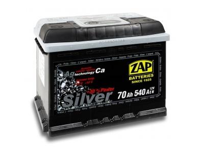 Аккумулятор автомобильный 70 Ah-570 25 ZAP SILVER /о.п./