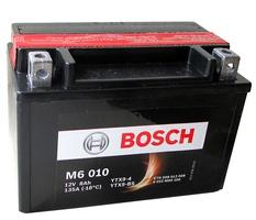 Аккумулятор для мотоциклов Bosch YTX9-BS / YTX9-4 8Ah