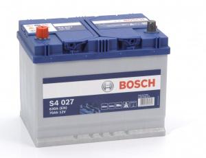 Аккумулятор автомобильный Bosch S4 Asia Silver 70 JL