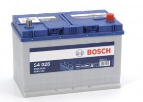 Аккумулятор автомобильный Bosch S4 Asia Silver 95 JR