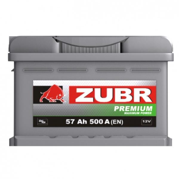Аккумулятор автомобильный 57 ŻUBR PREMIUM