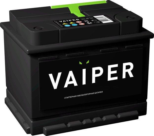 Аккумулятор автомобильный VAIPER 62 R