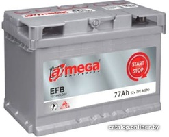 Аккумулятор автомобильный A-mega EFB 77 R
