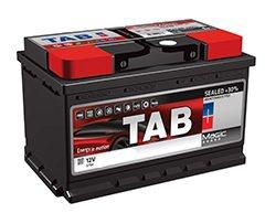 Аккумулятор автомобильный Tab Magic 100 R низк.