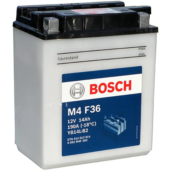 Аккумулятор для мотоциклов Bosch YB14L-B2 14Ah