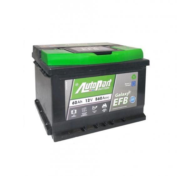 Аккумулятор автомобильный 62Ah-ARL562-GALAXY EFB