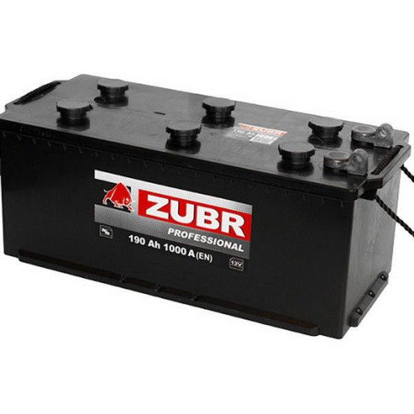 Грузовой аккумулятор 190 ŻUBR под болт