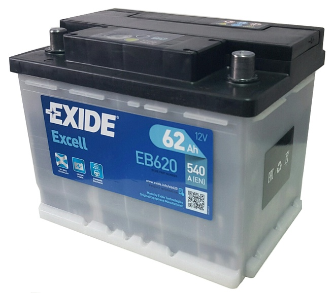 Аккумулятор автомобильный Exide OE 62 R