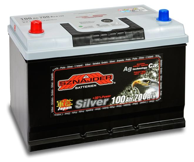 Аккумулятор автомобильный Sznajder Silver Japan [magic eye] 100 JL