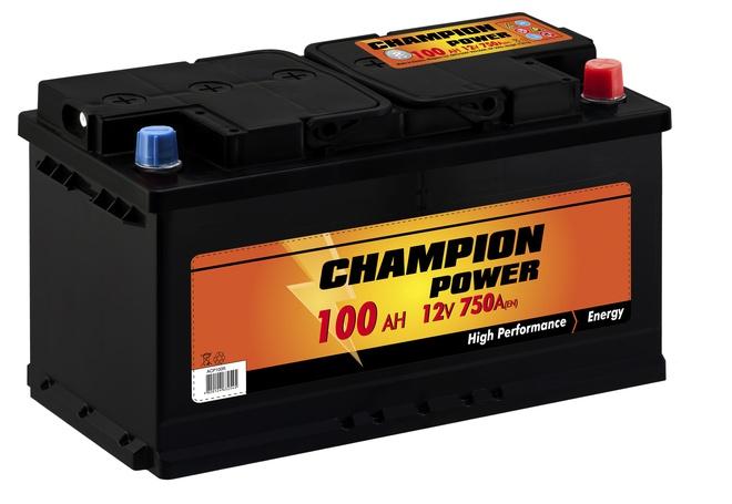 Аккумулятор автомобильный CHAMPION POWER 100 R