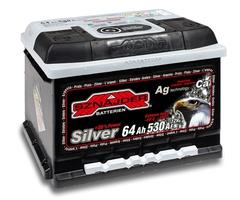 Аккумулятор автомобильный Sznajder Silver [magic eye] 64 R