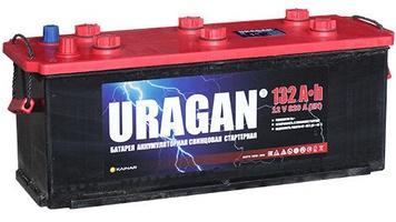 Грузовой аккумулятор URAGAN 132 L+