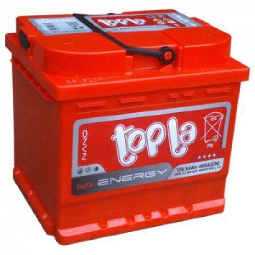 Аккумулятор автомобильный 50 TOPLA Energy R+