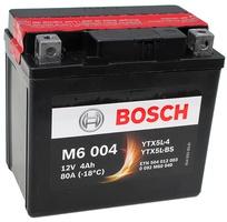 Аккумулятор для мотоциклов Bosch YTX5L-BS / YTX5L-4 4Ah