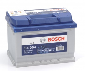 Аккумулятор автомобильный Bosch S4 Silver 60 R low