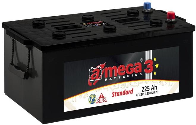 Грузовой аккумулятор A-mega Standard 225