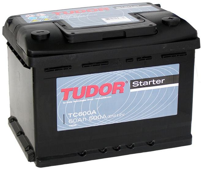 Аккумулятор автомобильный Tudor Starter 60 R