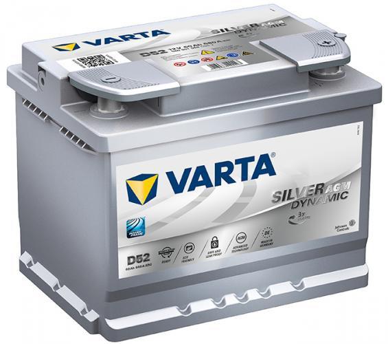 Аккумулятор автомобильный 60 VARTA SILVER DYNAMIK AGM