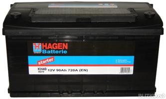 Аккумулятор автомобильный 90 HAGEN