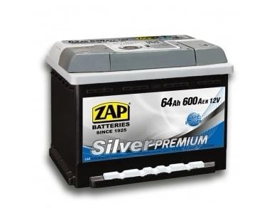 Аккумулятор автомобильный 64 Ah 564 45 ZAP SILVER PREMIUM R+ /о.п./